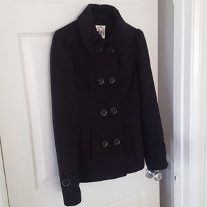 Hydraulic short Pea coat XS